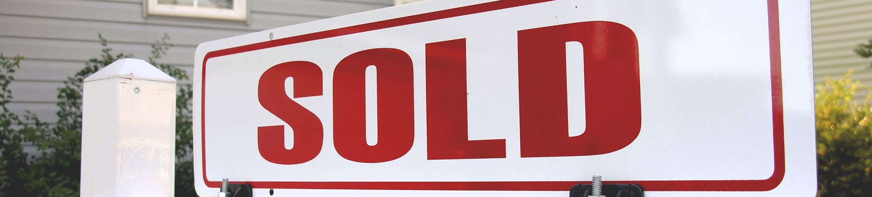 sold signage